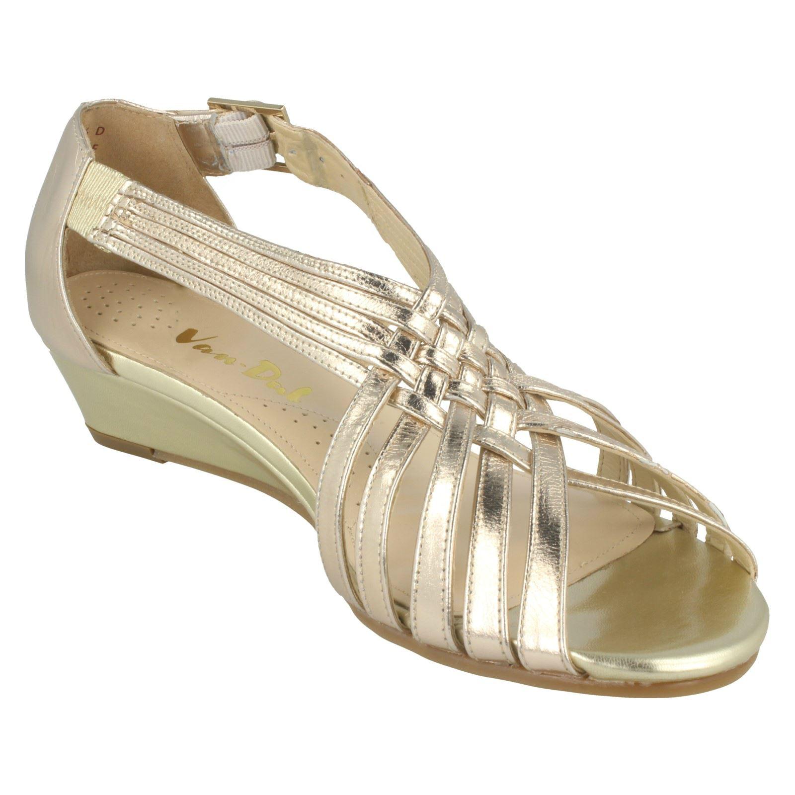 Ladies-Van-Dal-Wedge-Strappy-Sandals-Lucie thumbnail 26