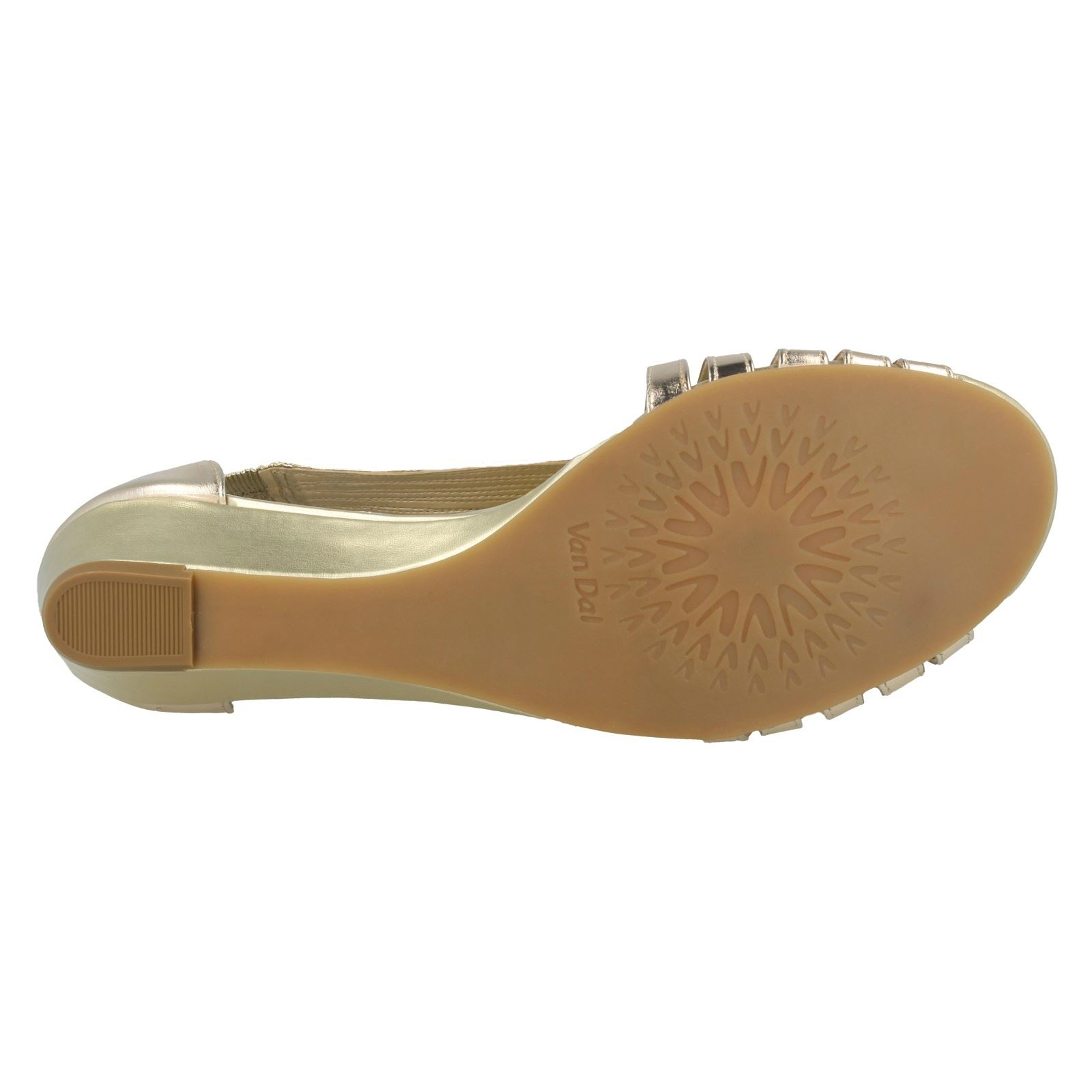 Ladies-Van-Dal-Wedge-Strappy-Sandals-Lucie thumbnail 27