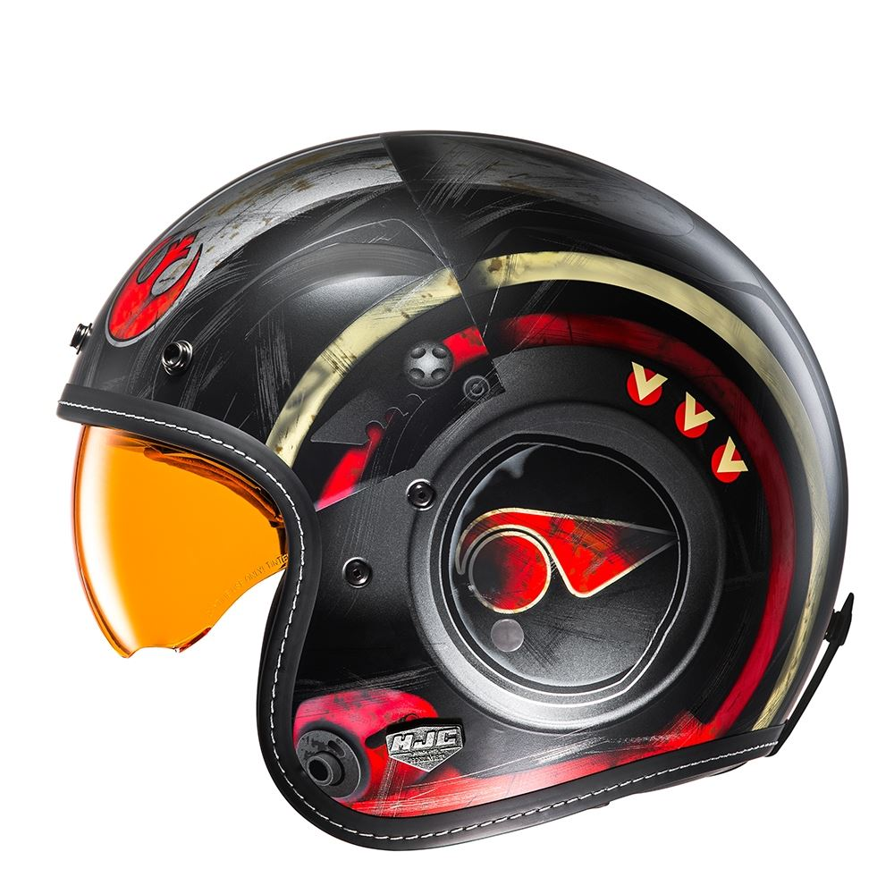 Hjc Helmets Fg-70s Moto casque de moto /à visage ouvert X-Wing Fighter Pilot