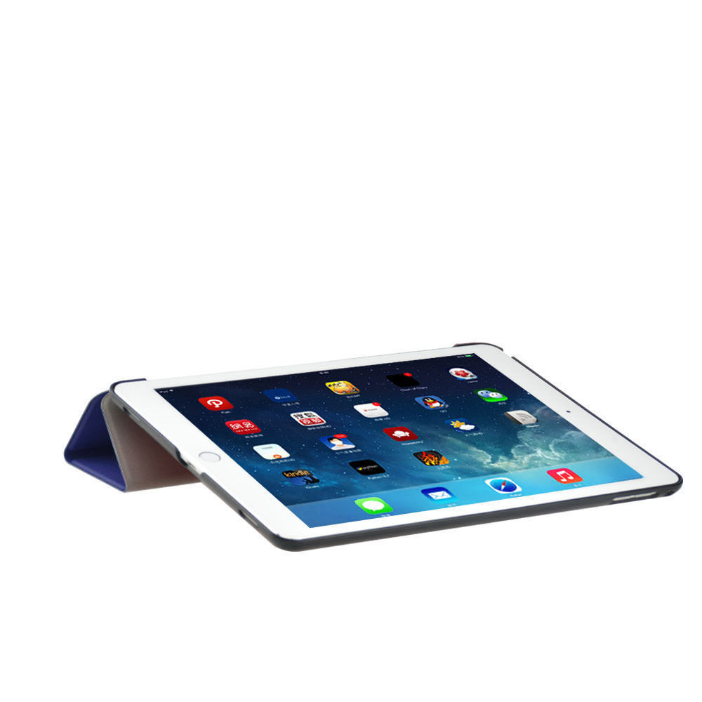 Custodia-Per-Apple-IPAD-Air-2-9-7-Smart-Cover-a-Libro-Protettiva-Conchiglia miniatura 46
