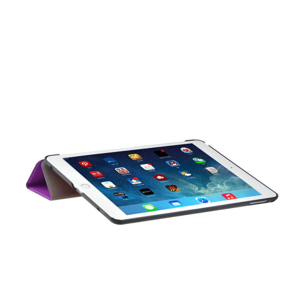 Custodia-Per-Apple-IPAD-Air-2-9-7-Smart-Cover-a-Libro-Protettiva-Conchiglia miniatura 52