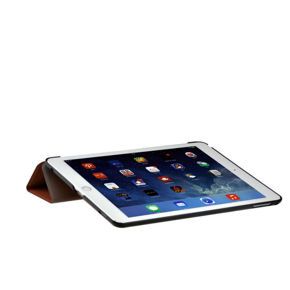 Custodia-Per-Apple-IPAD-Air-2-9-7-Smart-Cover-a-Libro-Protettiva-Conchiglia miniatura 64