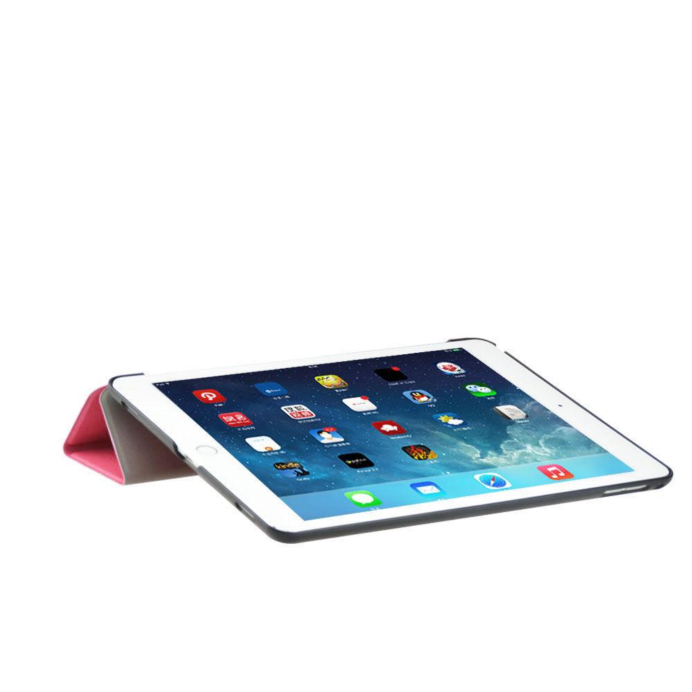 Custodia-Per-Apple-IPAD-Air-2-9-7-Smart-Cover-a-Libro-Protettiva-Conchiglia miniatura 58