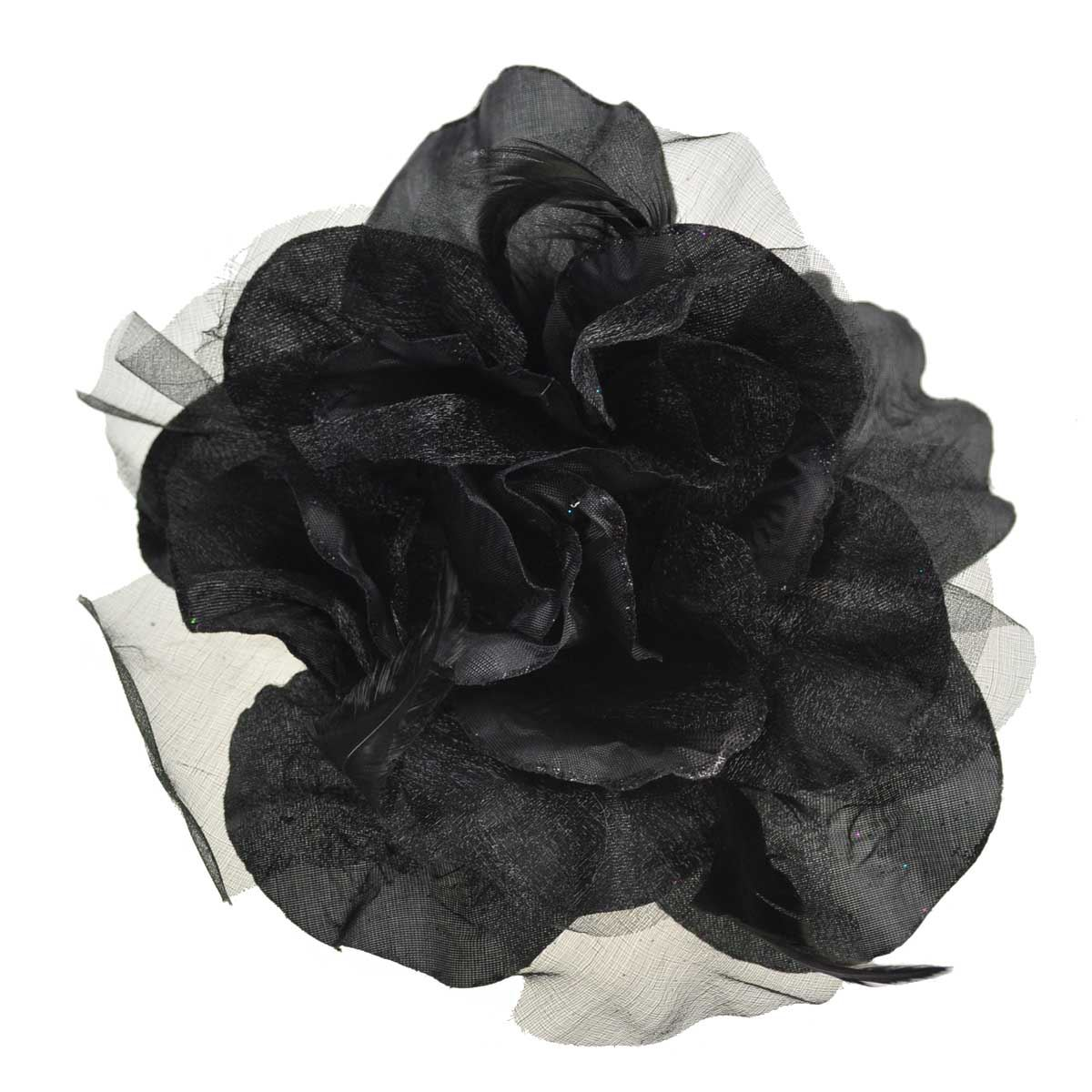 gro billig corsage kleid blumen haarspange kopfschmuck brosche elastisch ebay. Black Bedroom Furniture Sets. Home Design Ideas