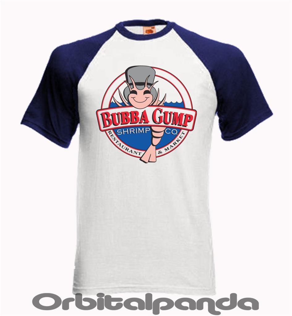 camiseta-de-beisbol-SS-con-Bubba-Gump-Shimp-Circular-Diseno-Tom-Hanks