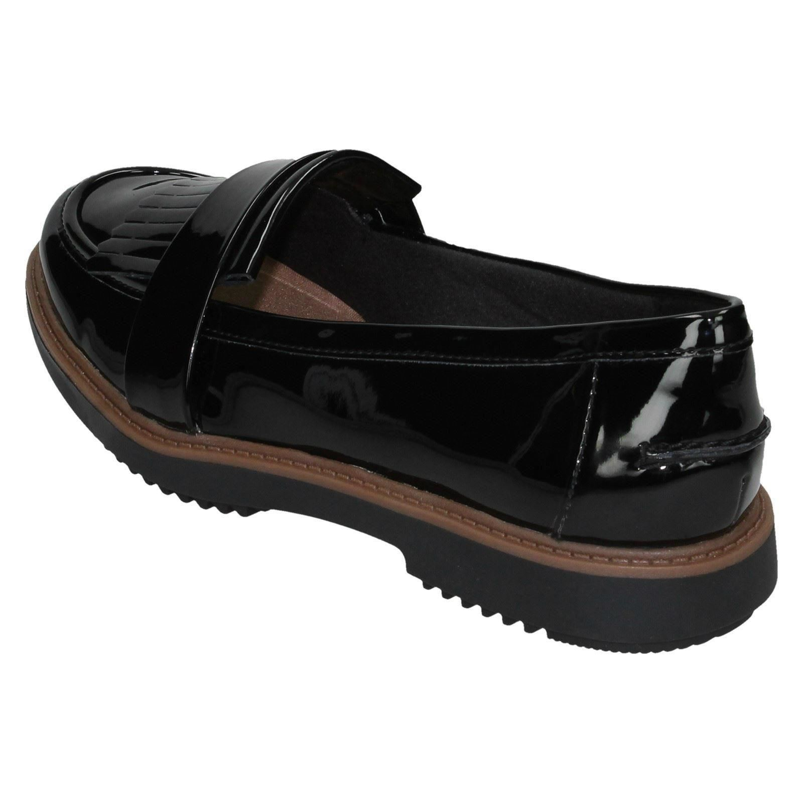 Ladies Clarks Slip On Formal Shoes *Raisie Theresa*