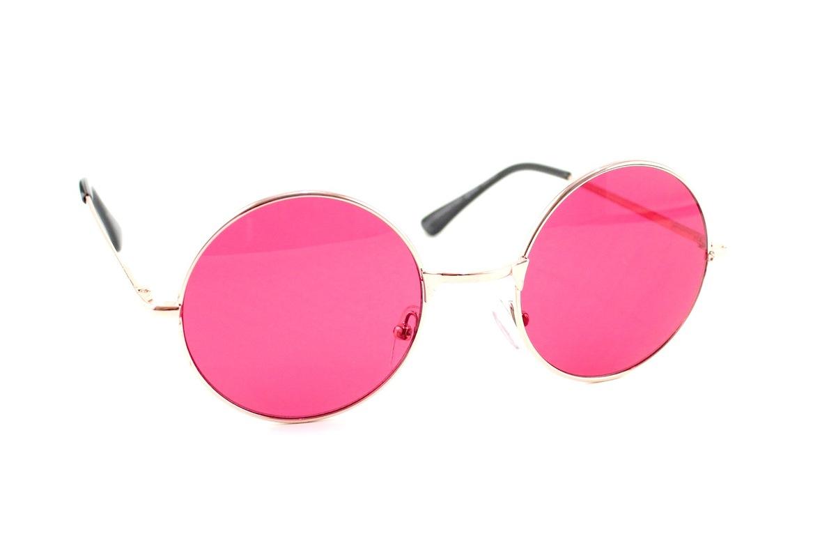 redondo lentes montura metalica gafas de sol john