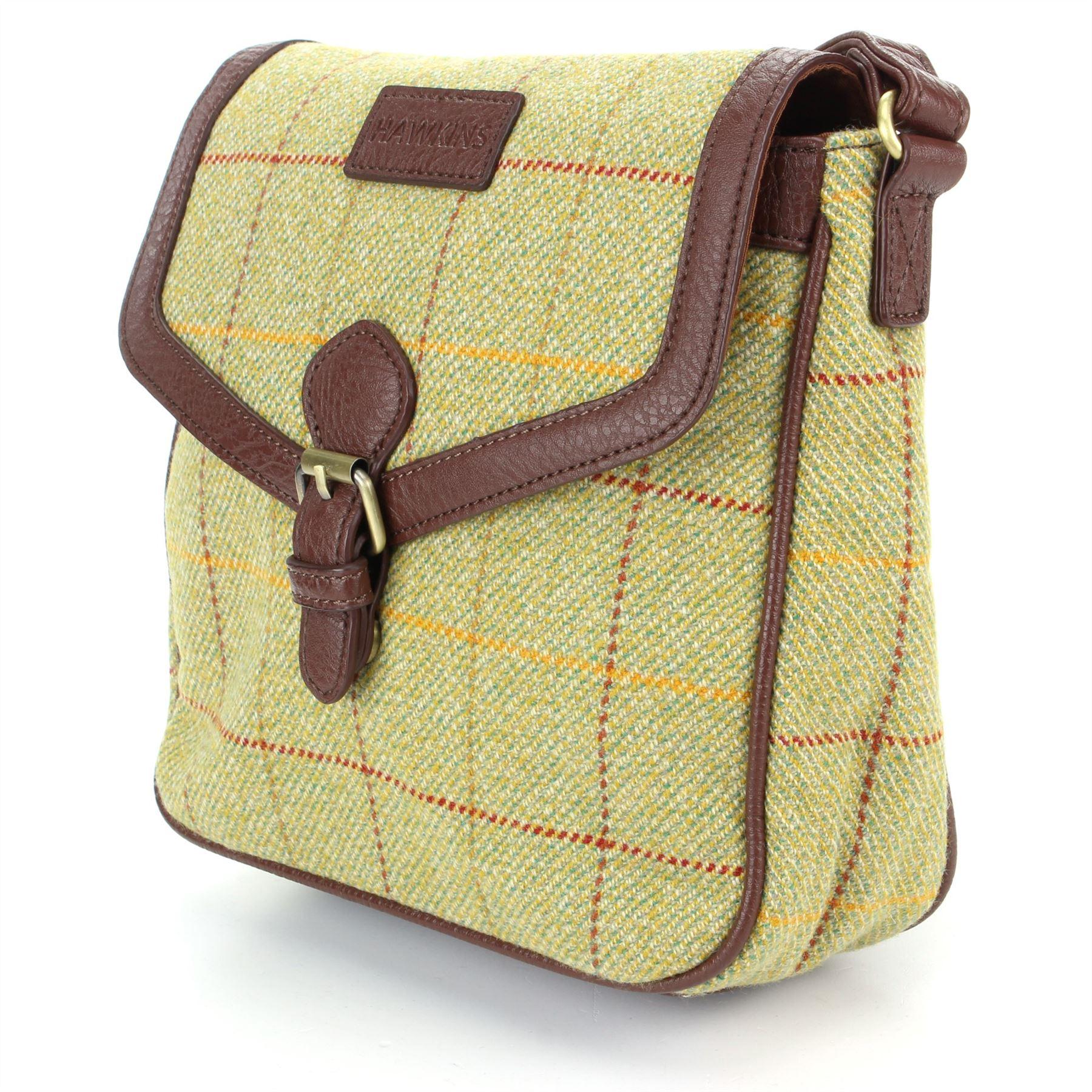Tweed Wolle Grün Tasche Schultertasche Hawkins Umhängetasche 6wHq881n