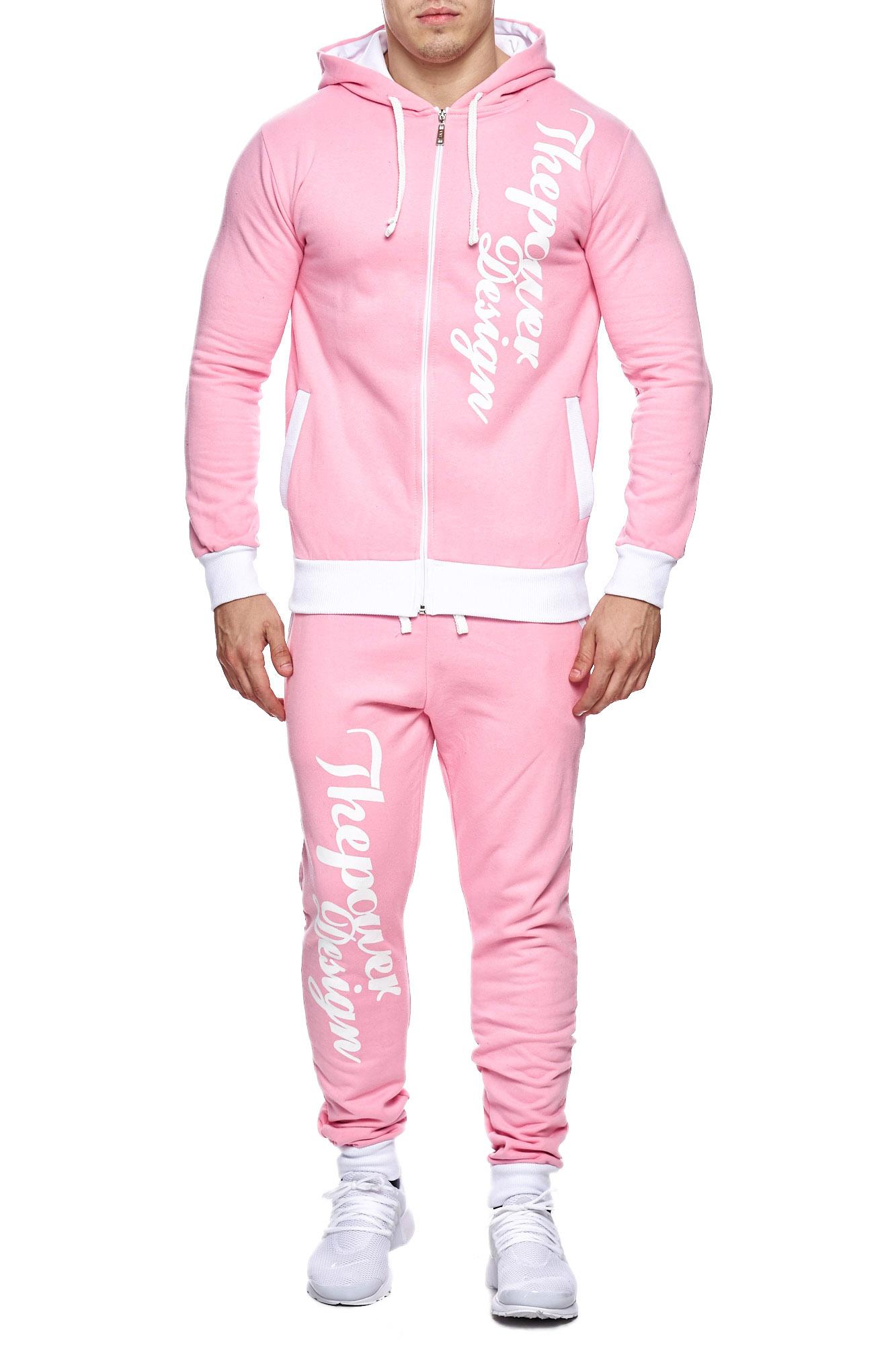 Jogging-Suit-Sports-Suit-Fitness-Power-Men-039-s-Code47 thumbnail 8
