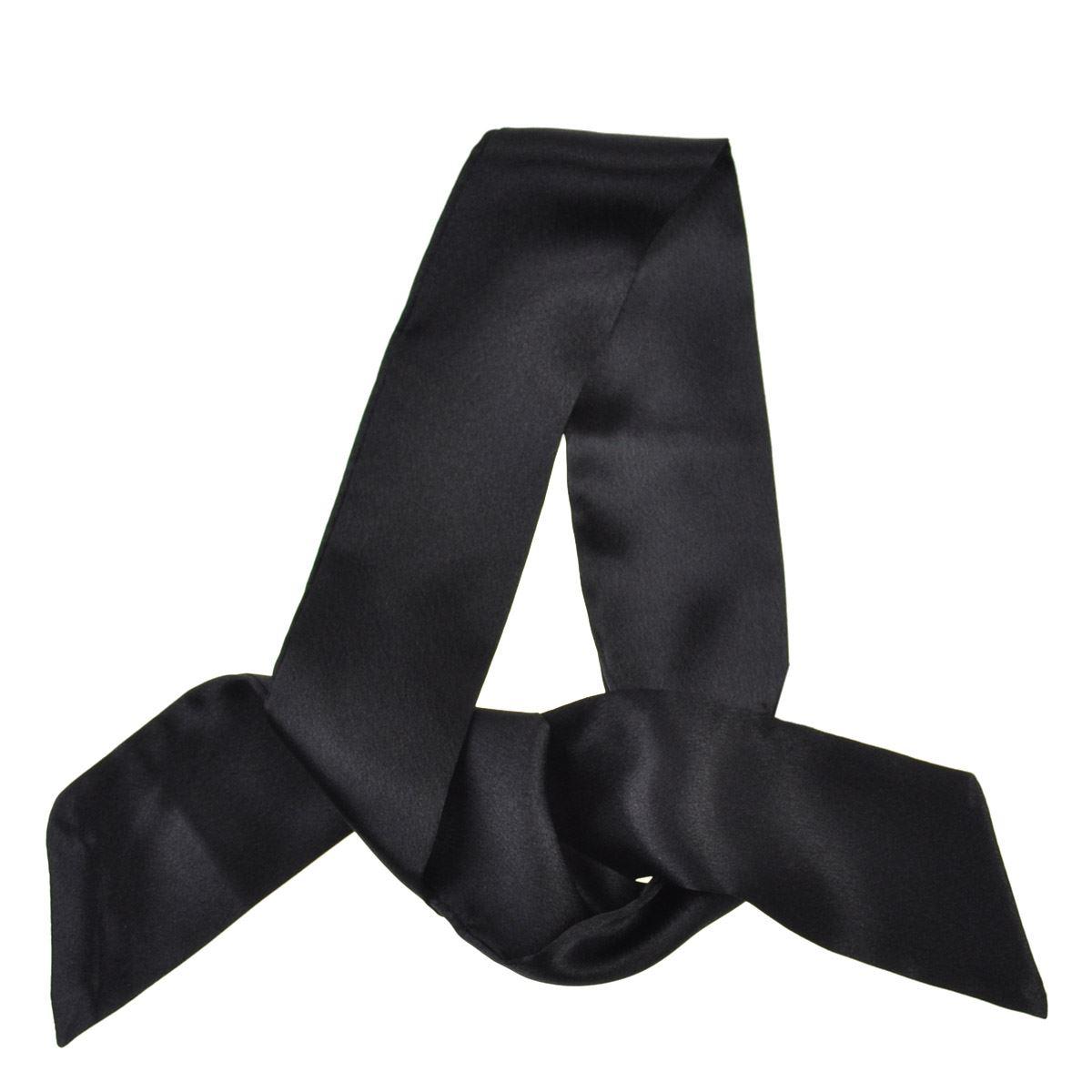 Hohe Qualität Halstücher Damen Retro Silky 50s Sash Twilly Einfarbiger Schal