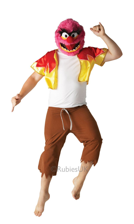 hommes-Animal-Muppets-SESAME-STREET-SEMAINE-DU-LIVRE-Deguisement-Costume-Adulte