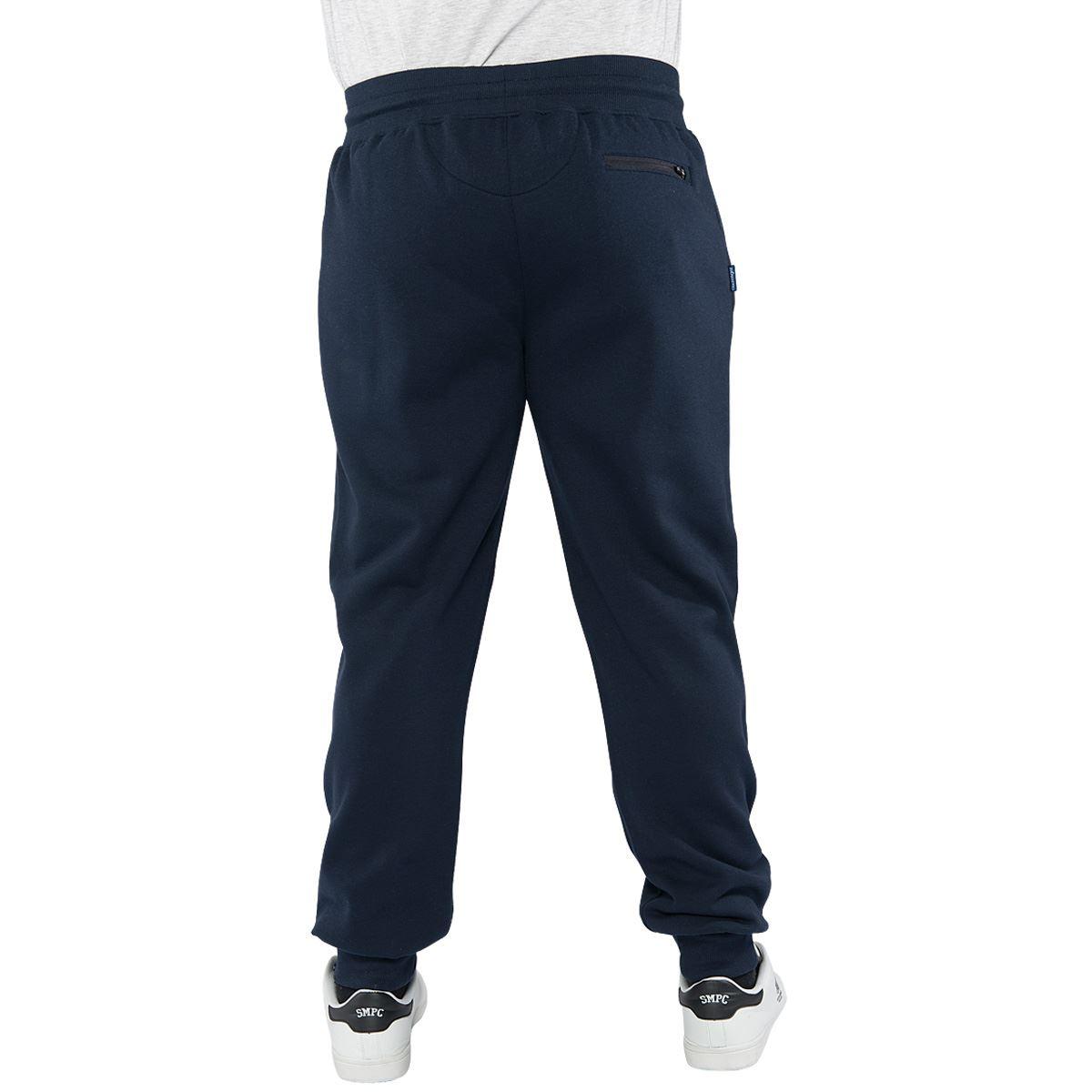 Slazenger-Hombre-Talla-Grande-Joggers-Con-Punos-Informal-Pantalones-De-Chandal