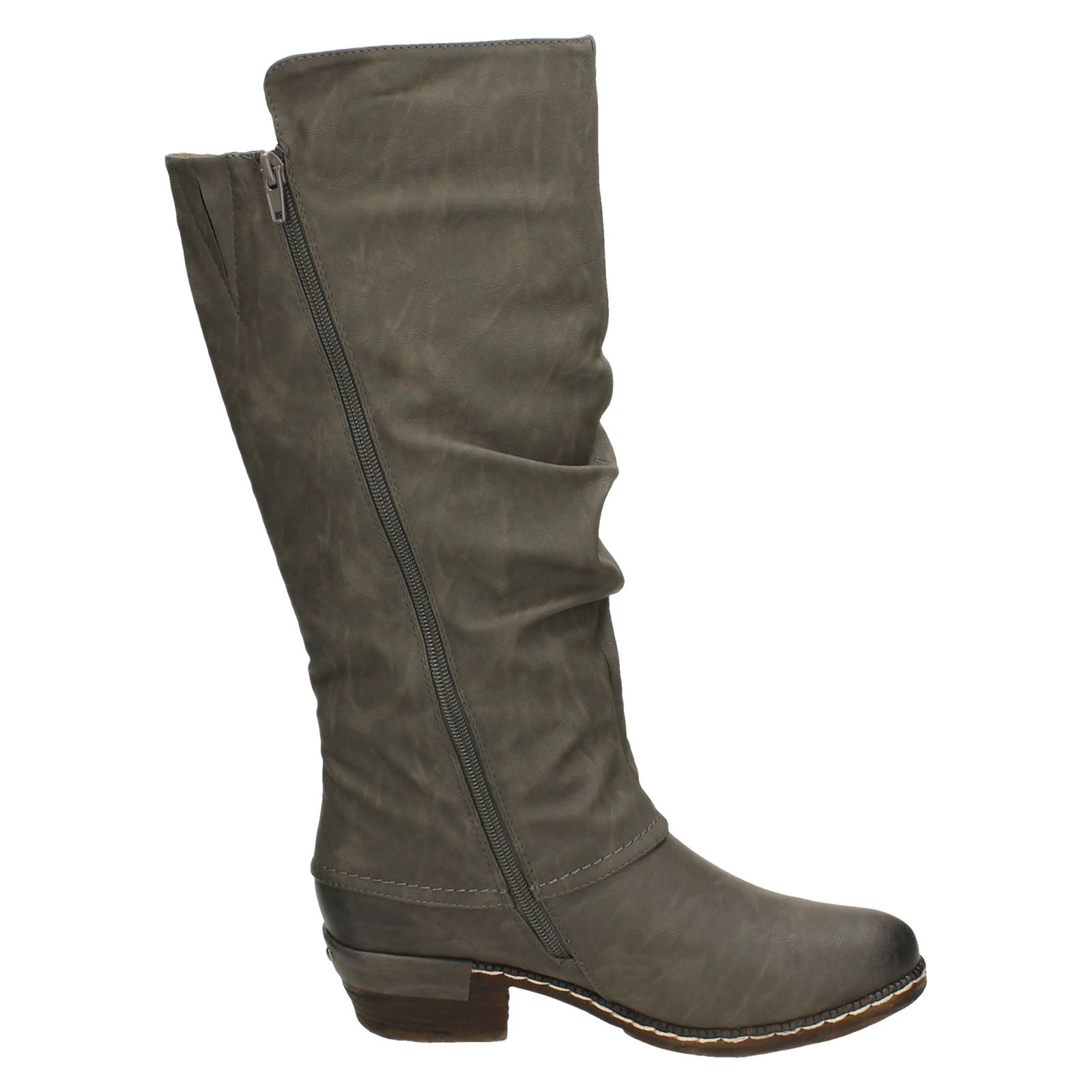 Rieker Ladies Knee High Casual Boots