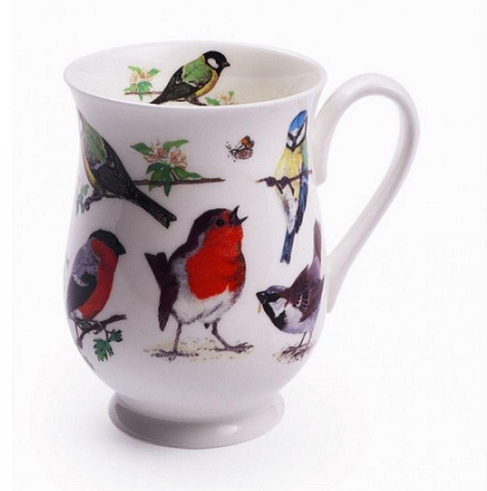 Roy-Kirkham-Cina-tazze-Set-uccellini-farfalle-barche-o-fragole