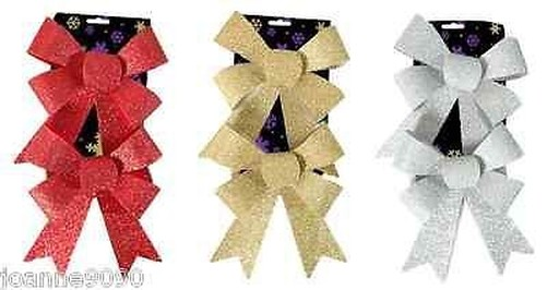 Rojo-Decoracion-Arbol-Navidad-Juego-Conjunto-Adorno-BOLAS-Corazones