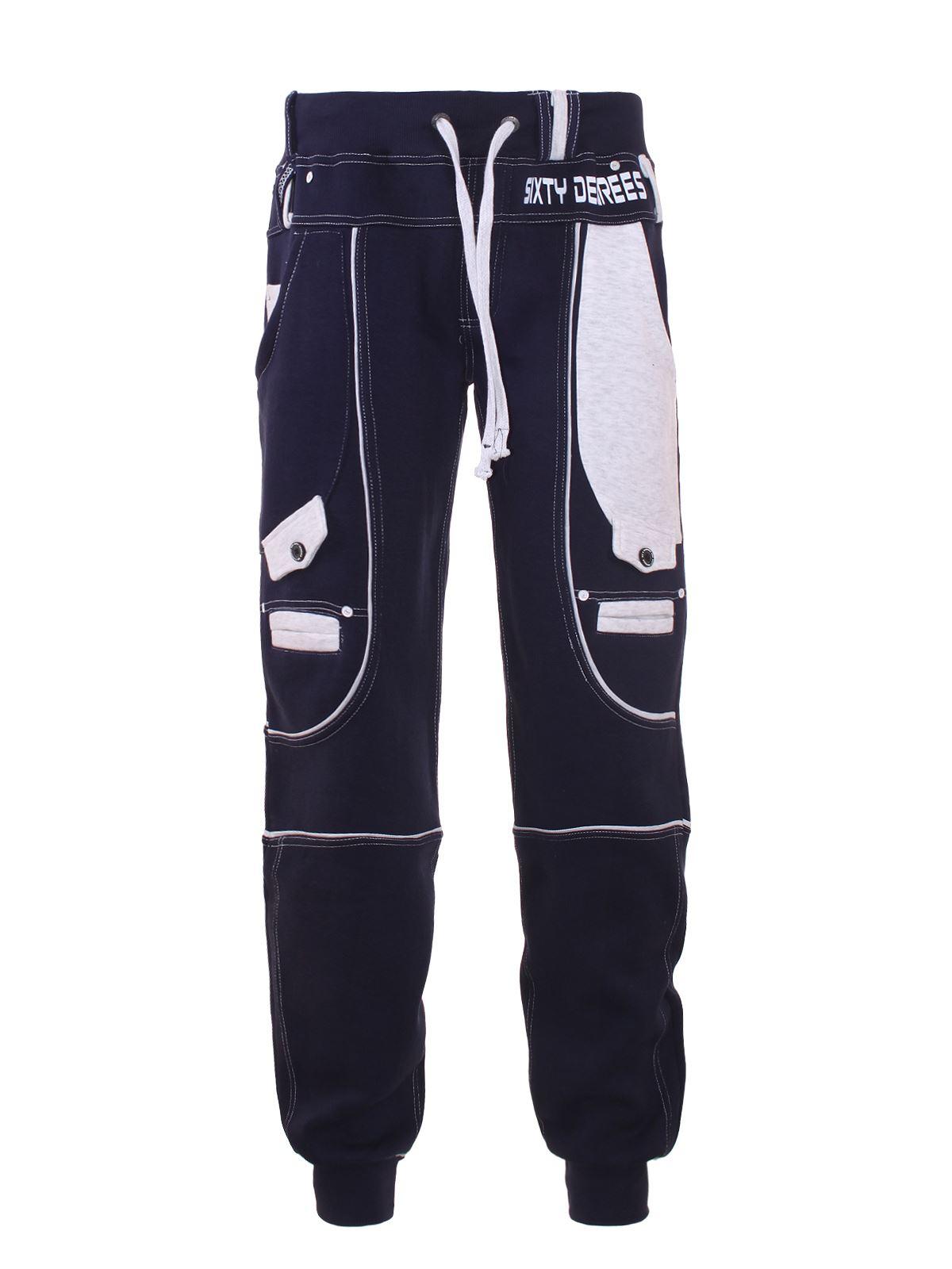 Uomo-Pile-Jogging-Pantaloni-da-denim-DESIGN-SPORT-ALLENAMENTO-Casual-S-XL