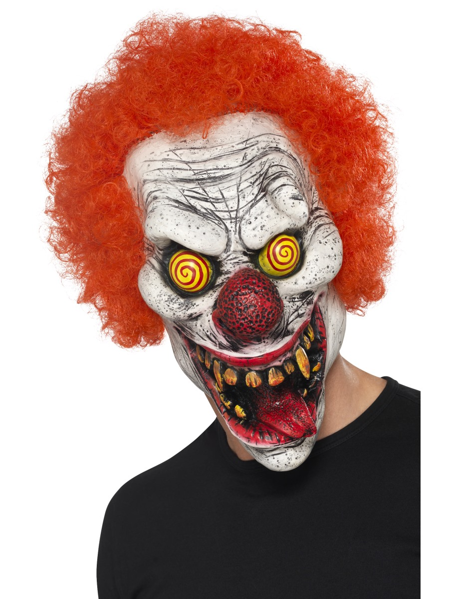 horror clown mask halloween scary clowns fancy dress