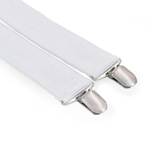 35mm-Adulto-Tirantes-Pantalones-con-Clip-Hombre-X-Forma-Espalda-Liga-Ajustable miniatura 20