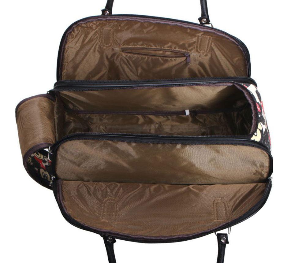 neu unisex reisetasche koffer griff r der karte simpsons micky druck ebay. Black Bedroom Furniture Sets. Home Design Ideas