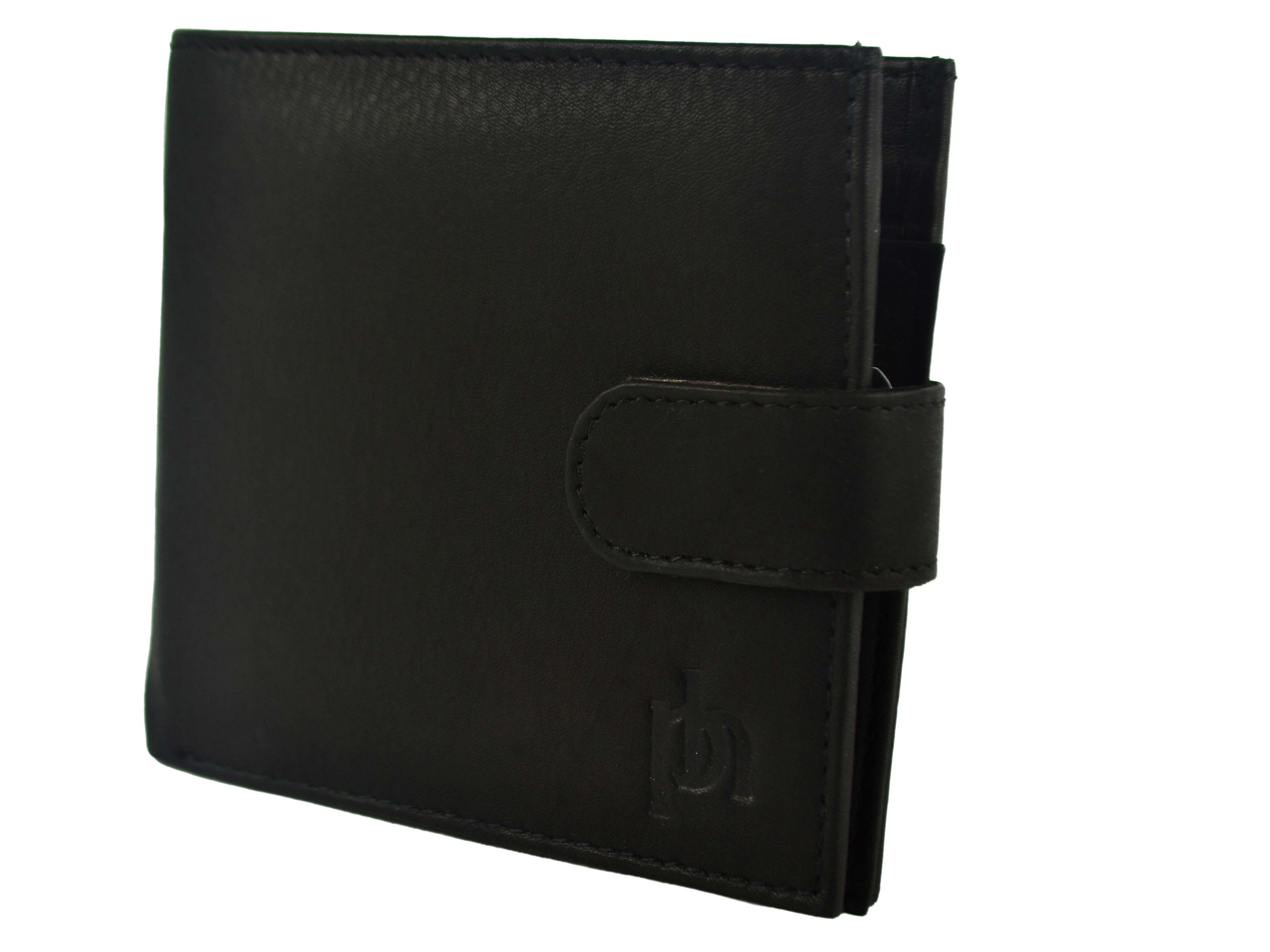 Mens-Quality-Soft-Leather-Wallet-by-Prime-Hide-Gift-Boxed-Stylish-with-Tab thumbnail 4