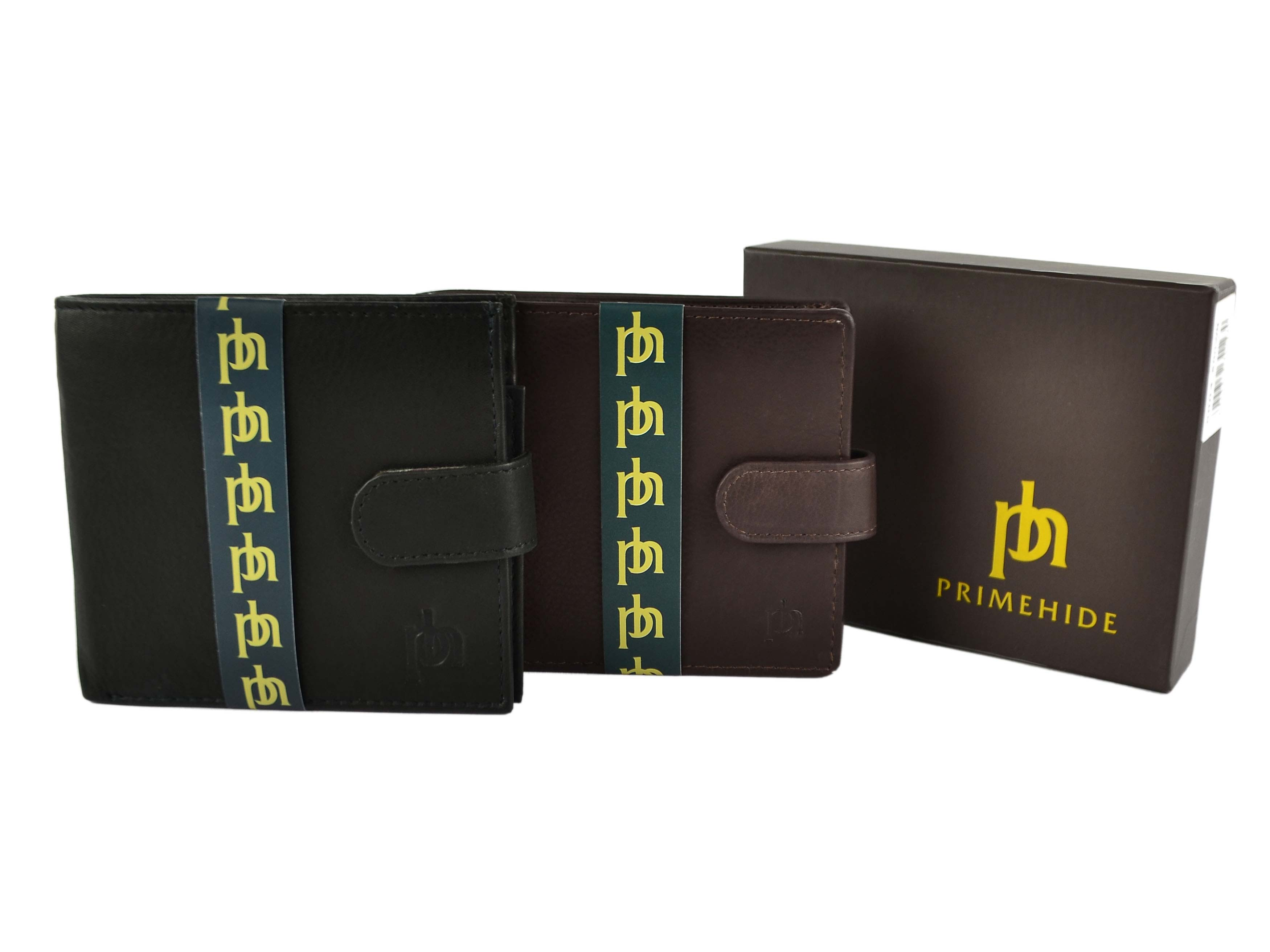 Mens-Quality-Soft-Leather-Wallet-by-Prime-Hide-Gift-Boxed-Stylish-with-Tab thumbnail 7