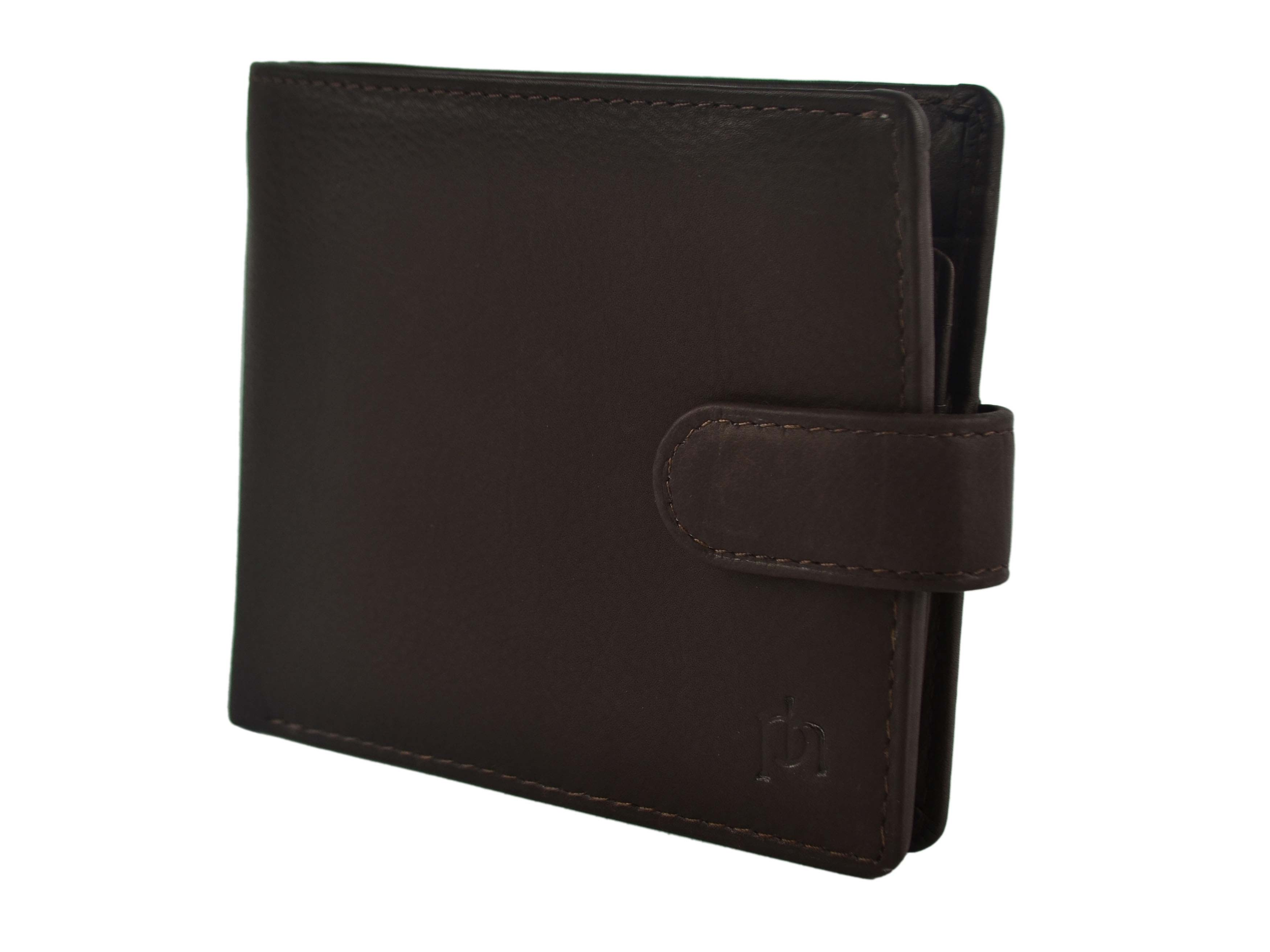 Mens-Quality-Soft-Leather-Wallet-by-Prime-Hide-Gift-Boxed-Stylish-with-Tab thumbnail 10