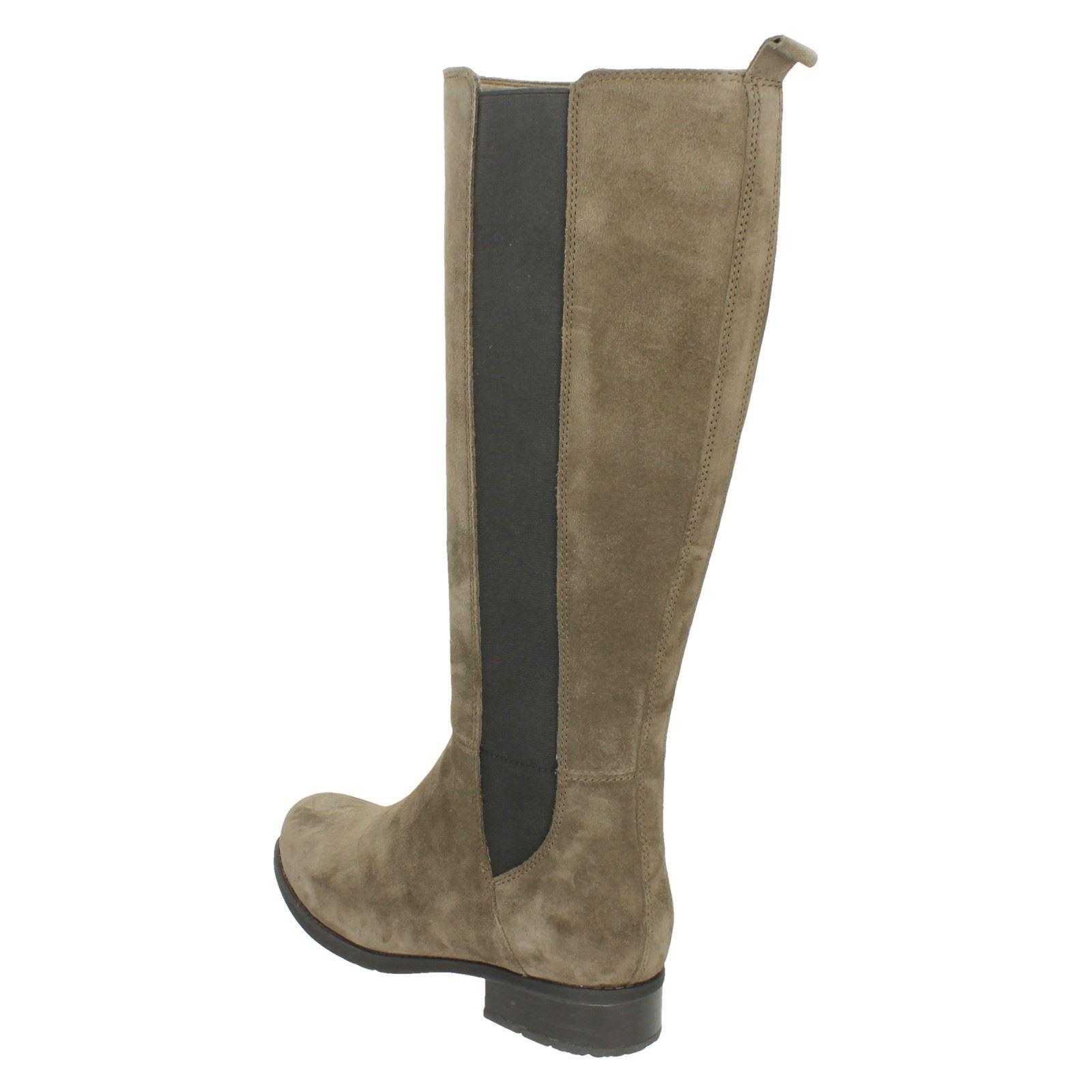 Mujer Clarks Elegante botas Altas ' Verlie Gail Gail Gail ' 43a013