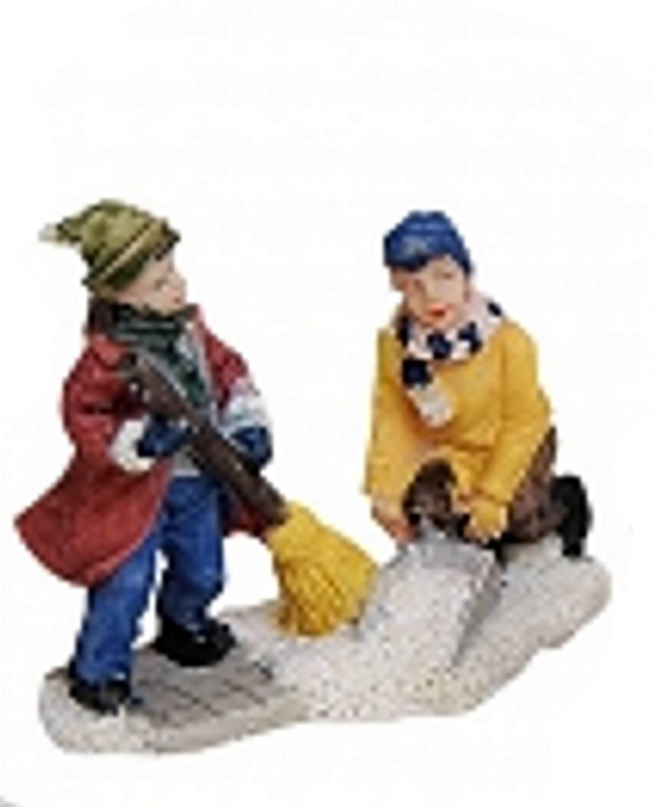 Lichthaus Wurm Accessories Christmas Miniature Winter Scene Person