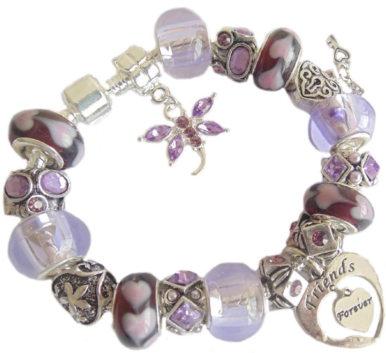 Femmes filles bracelet breloques personnalis anniversaire cadeau no l - Cadeau noel a vendre ...