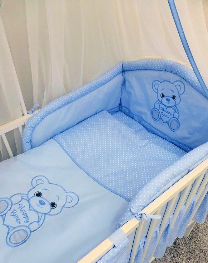 Guarderia-Bebe-6-piezas-Juego-de-ropa-cama-se-adapta-a-cuna-120-cm-140cm