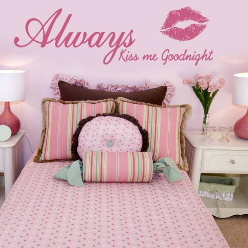 Pared-Dormitorio-Frases-Extraible-interior-adhesivos-de-pared-hogar-habitacion