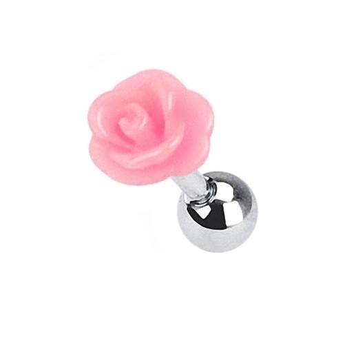 Tragus-Pendiente-de-perno-Cartilago-CONCH-Daith-Helice-Joya-Piercing-Rosas-Flor