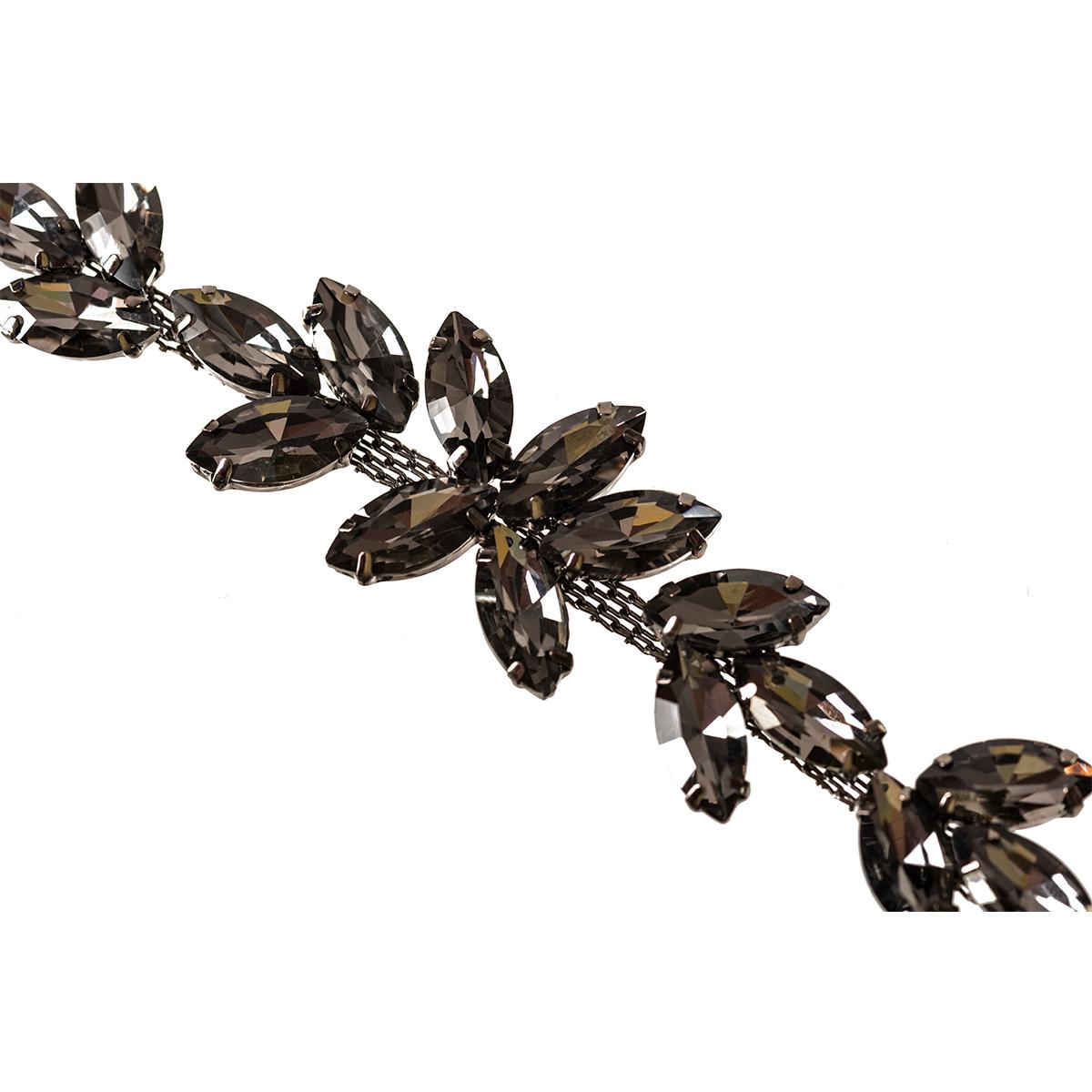 Rhinestone-Diamante-Motif-Applique-Sew-on-Crystal-Patch-for-Wedding-Bridal-Dress thumbnail 23