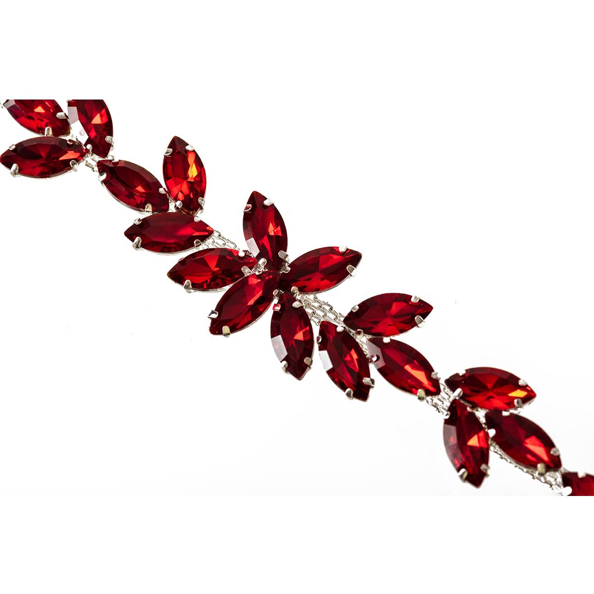 Rhinestone-Diamante-Motif-Applique-Sew-on-Crystal-Patch-for-Wedding-Bridal-Dress thumbnail 31