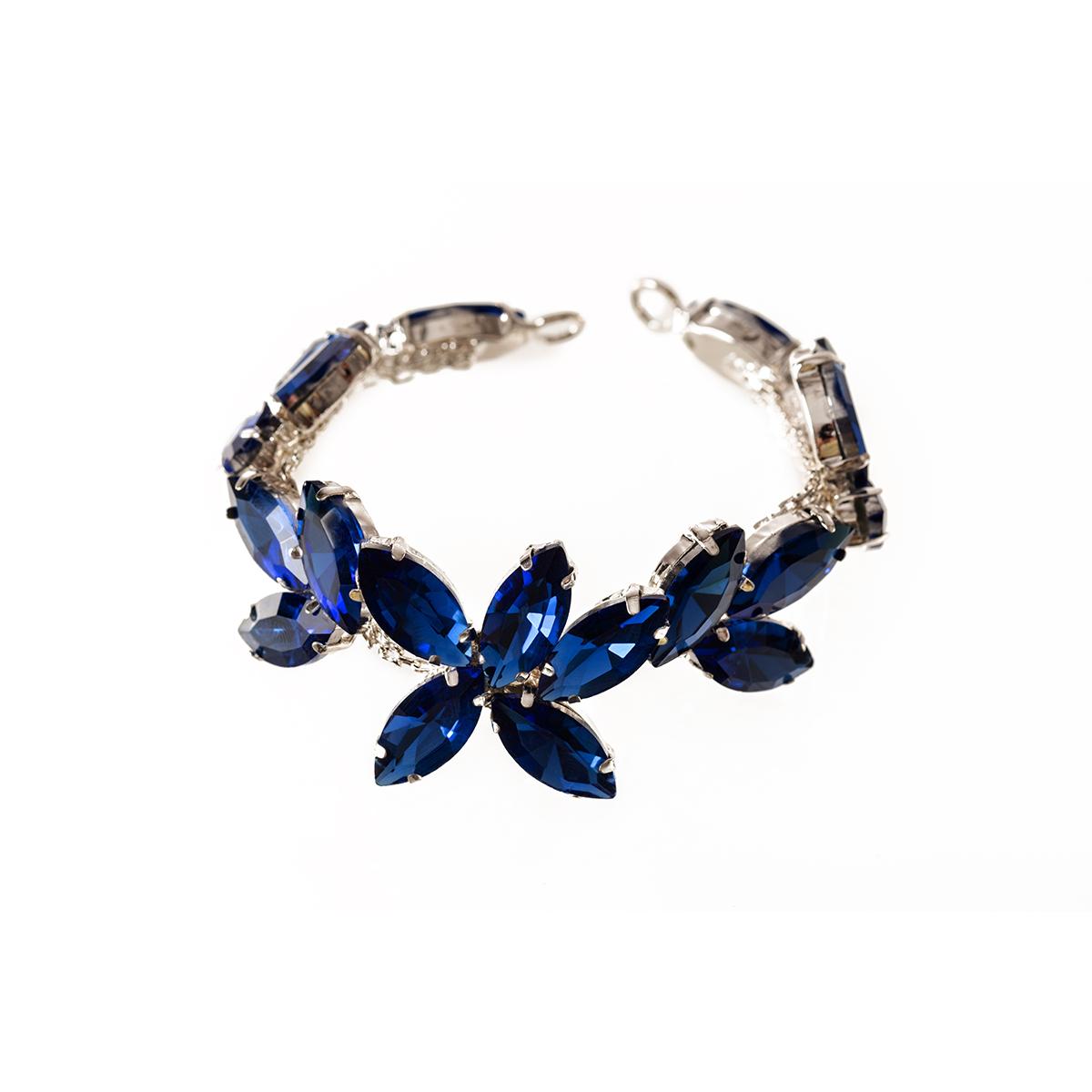 Rhinestone-Diamante-Motif-Applique-Sew-on-Crystal-Patch-for-Wedding-Bridal-Dress thumbnail 28