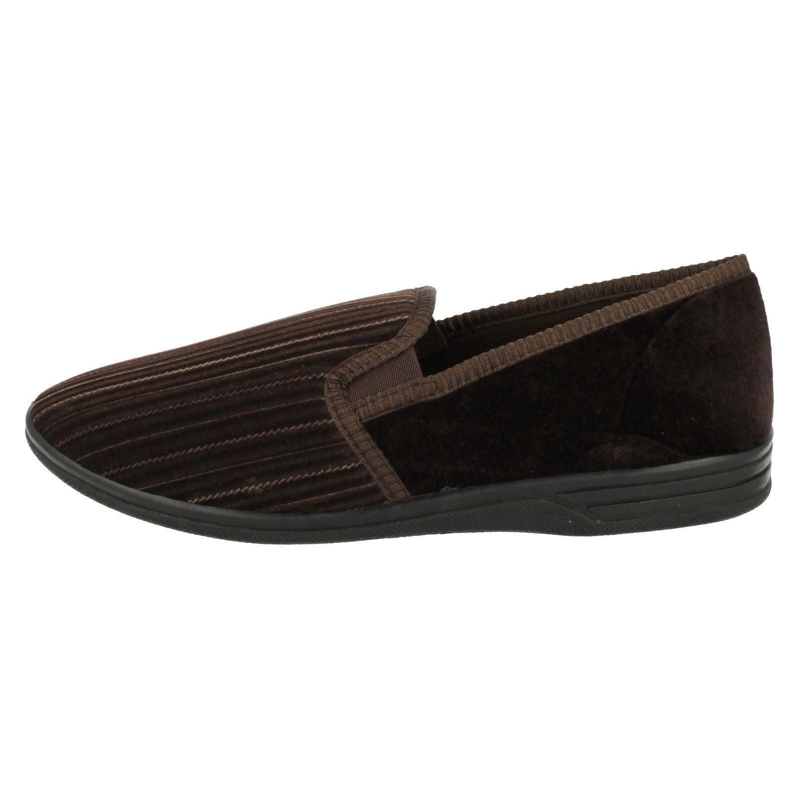 Da Uomo Marrone/burgundy Four Seasons Pantofole Taglie Uk 6-12 Bruce Clothing, Shoes & Accessories Men's Shoes