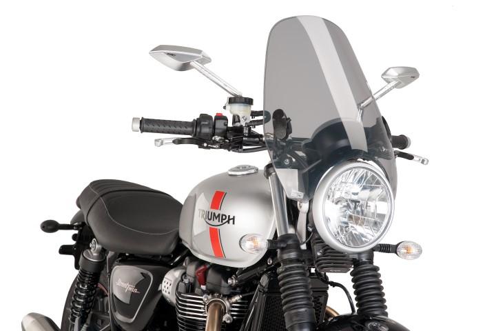 Details about  /0336 Puig Dome Screen Custom II Honda CB 1300 2003-2013