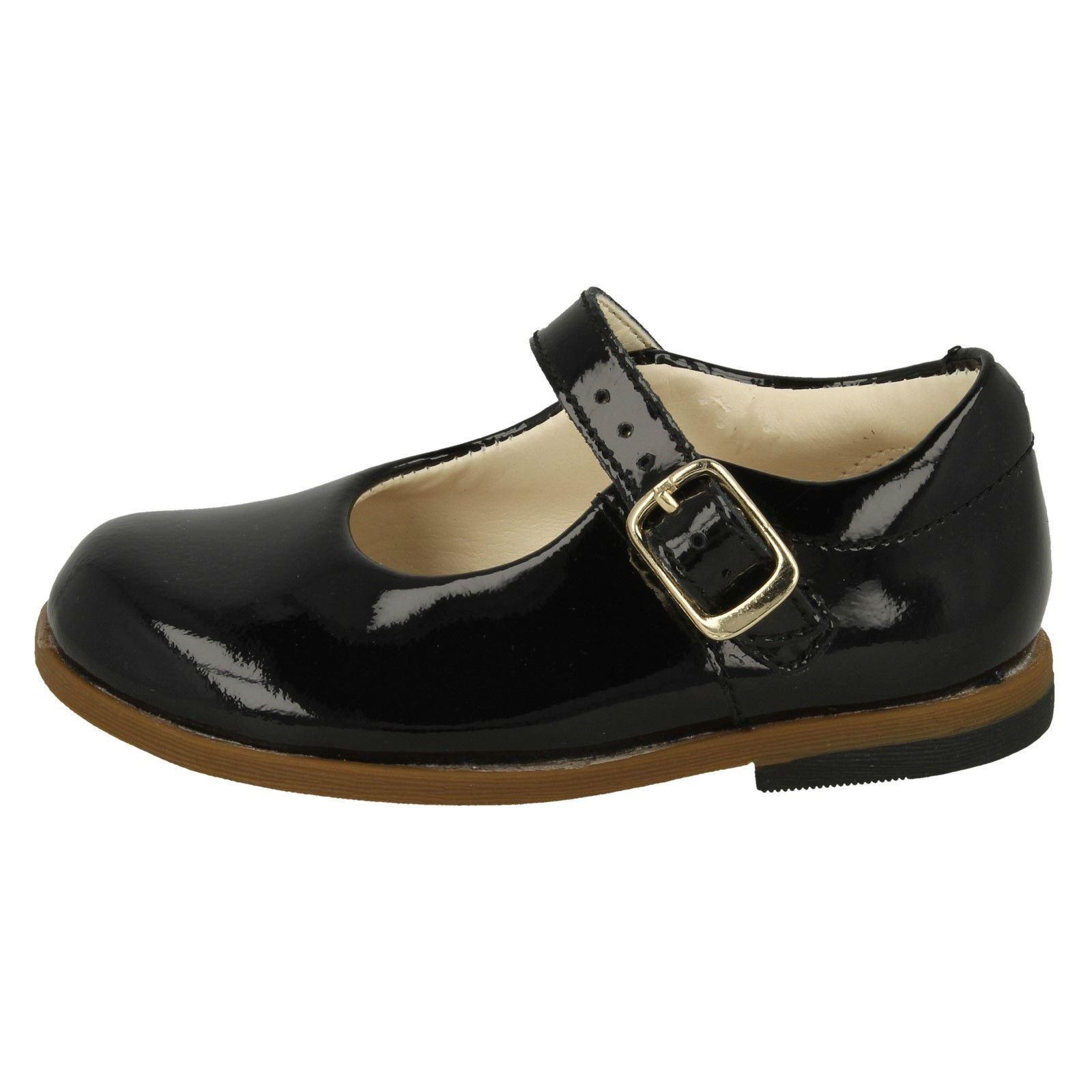 Sky Zapatos Niña Hebilla Cierre Clarks Drew De Colegio wBIw0qr