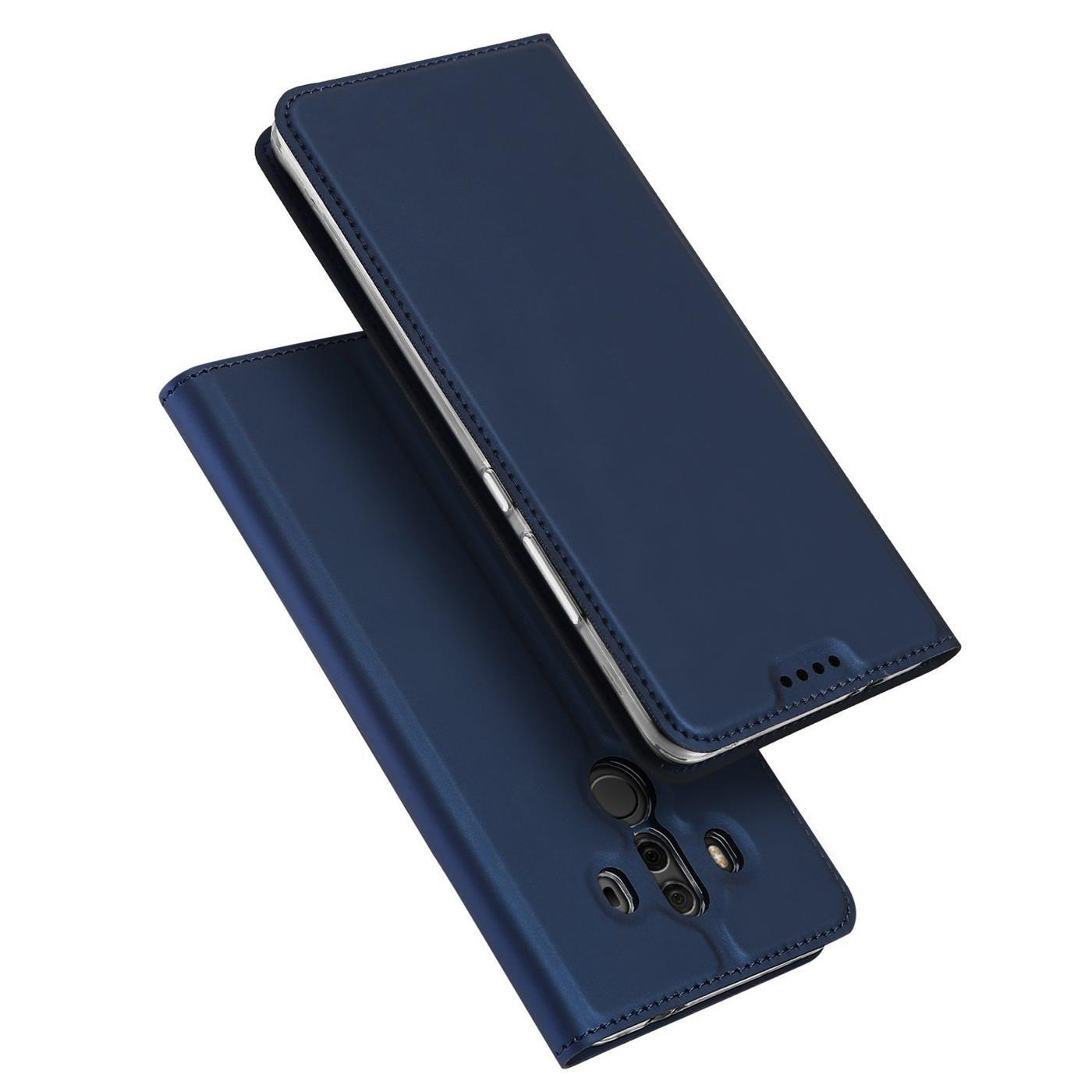 Funda-para-Movil-Huawei-Mate-10-Pro-Libro-Protectora-Slim-Flip-Estuche miniatura 12