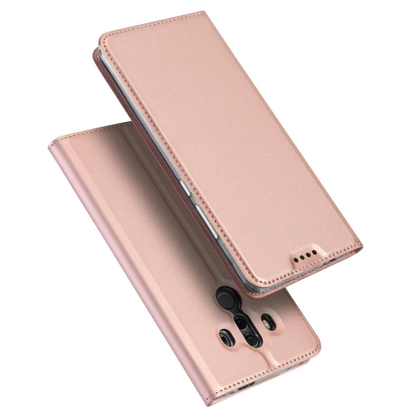 Funda-para-Movil-Huawei-Mate-10-Pro-Libro-Protectora-Slim-Flip-Estuche miniatura 15