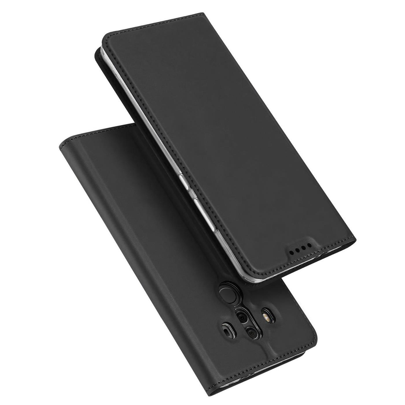 Funda-para-Movil-Huawei-Mate-10-Pro-Libro-Protectora-Slim-Flip-Estuche miniatura 9