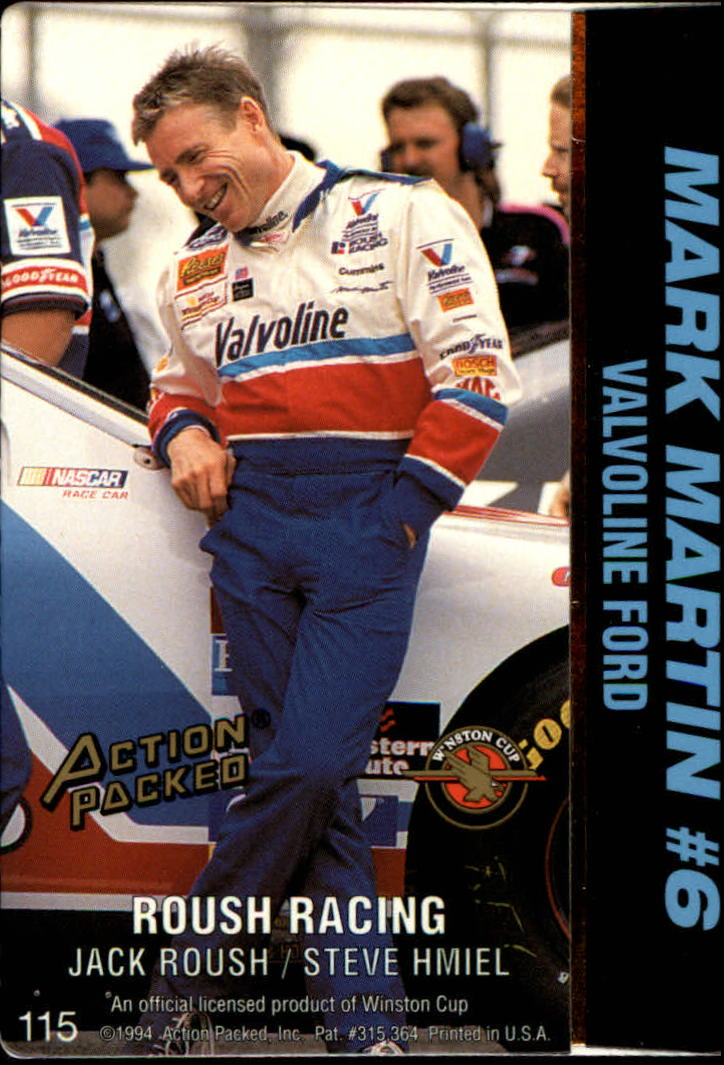 thumbnail 231 - 1994 Action Packed Auto Racing Cards 1-209 (A2791) - You Pick - 10+ FREE SHIP