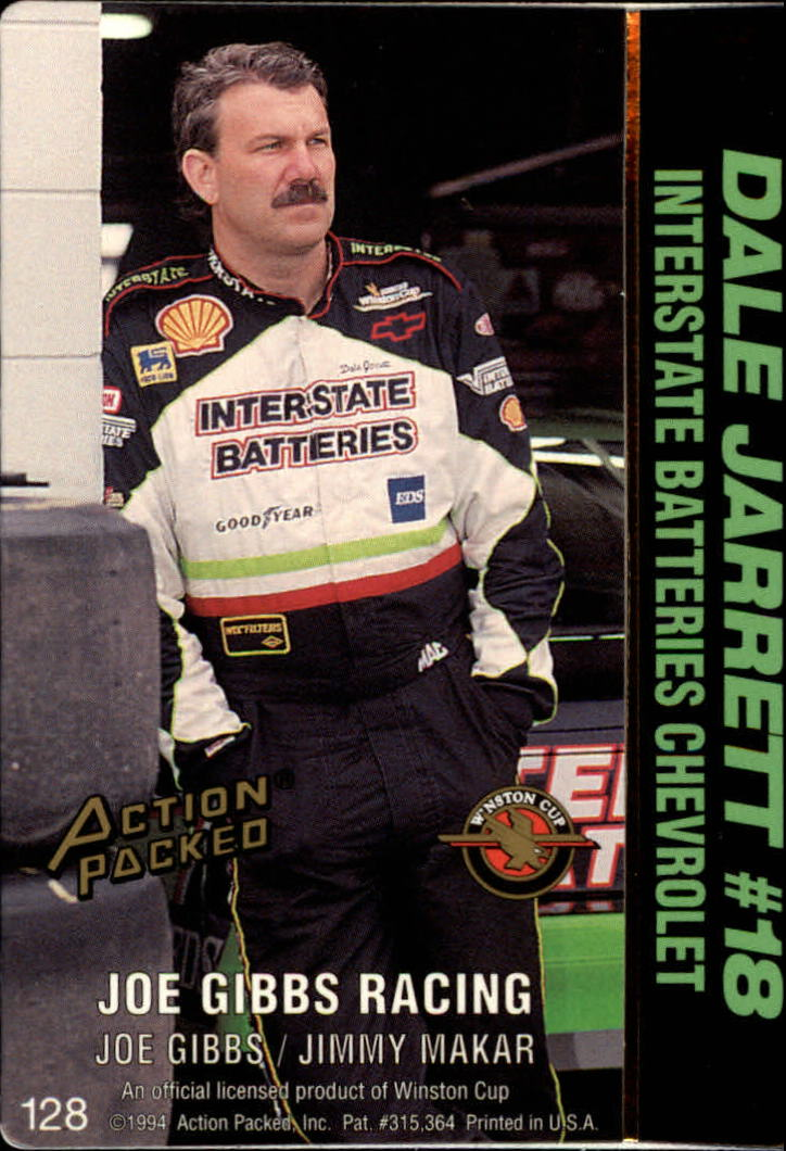 thumbnail 251 - 1994 Action Packed Auto Racing Cards 1-209 (A2791) - You Pick - 10+ FREE SHIP