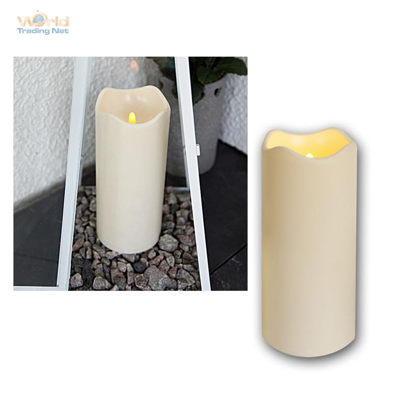 led candle for outdoor with timer flickering flameless ebay. Black Bedroom Furniture Sets. Home Design Ideas