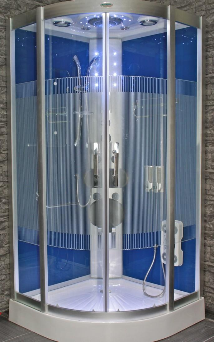acquavapore dtp8046 dbl douche vapeur douche douche. Black Bedroom Furniture Sets. Home Design Ideas