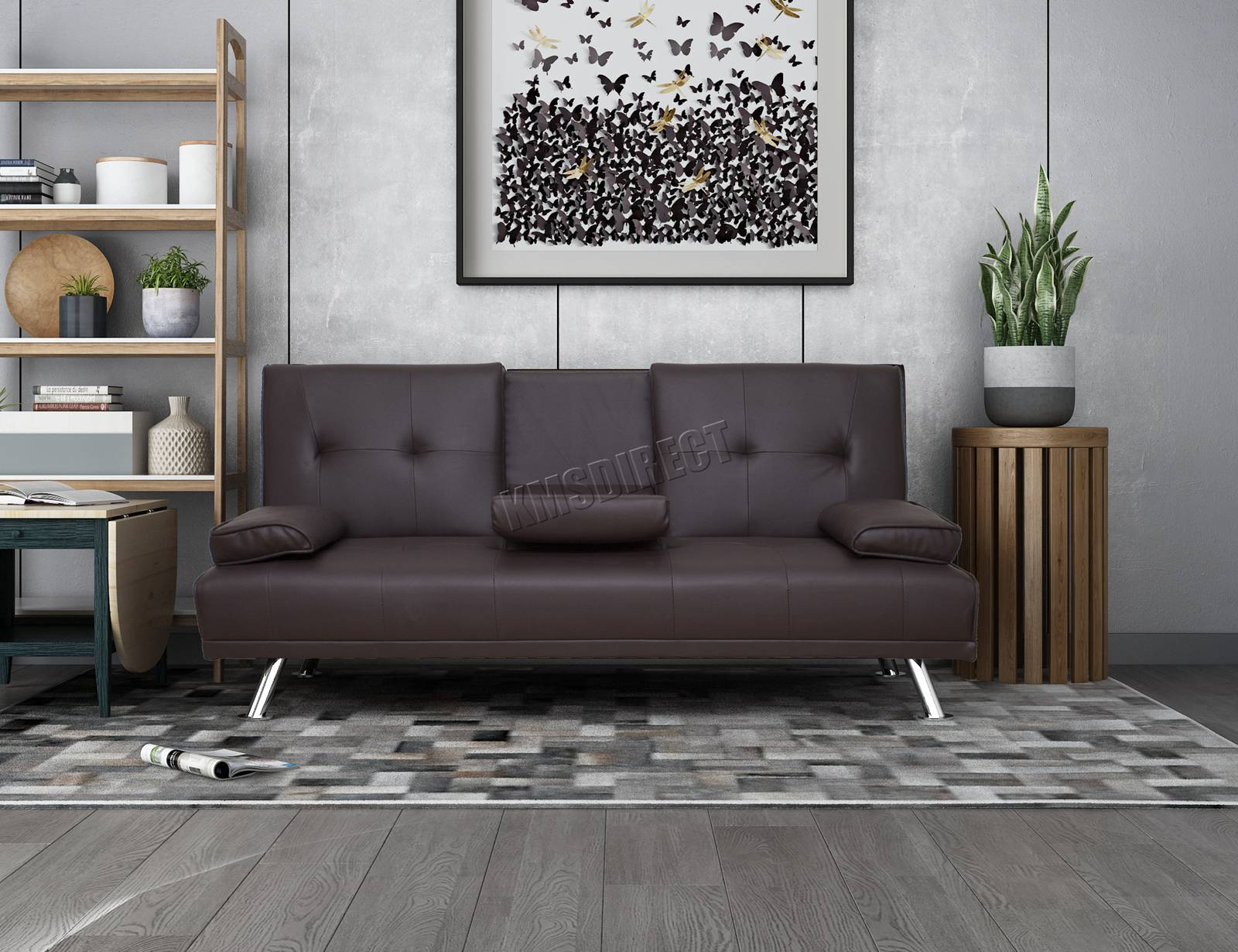 WestWood-Faux-Leather-Manhattan-Sofa-Bed-recliner-3-Seater-Modern-Luxury-Design thumbnail 23