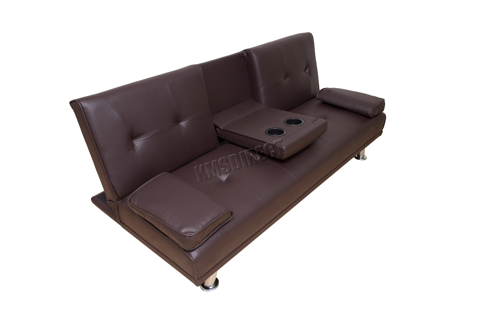 WestWood-Faux-Leather-Manhattan-Sofa-Bed-recliner-3-Seater-Modern-Luxury-Design thumbnail 24