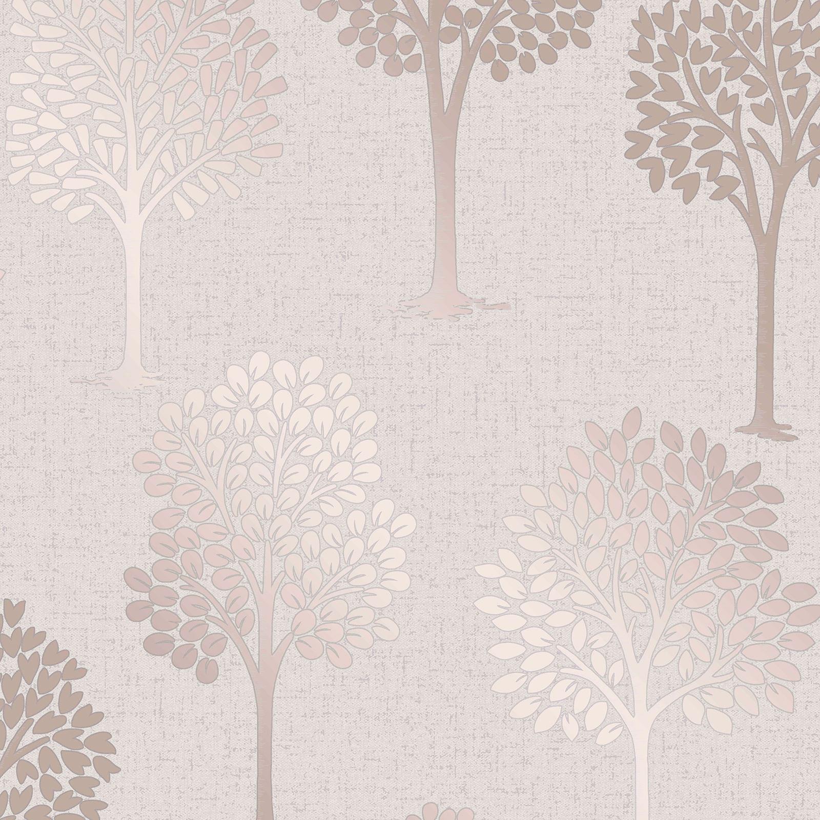 fine d cor fd42208 quarz baum tapete rose gold ebay. Black Bedroom Furniture Sets. Home Design Ideas