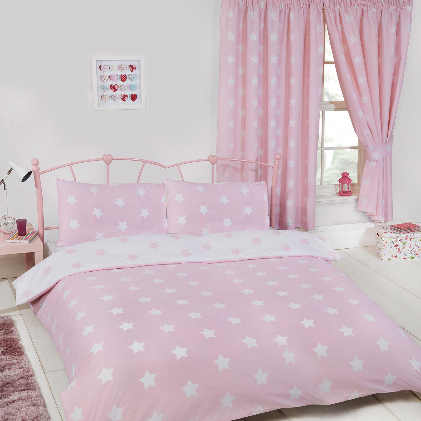 kinder m dchen jungen passend bettbezug sets einzeln doppel junior vorh nge ebay. Black Bedroom Furniture Sets. Home Design Ideas