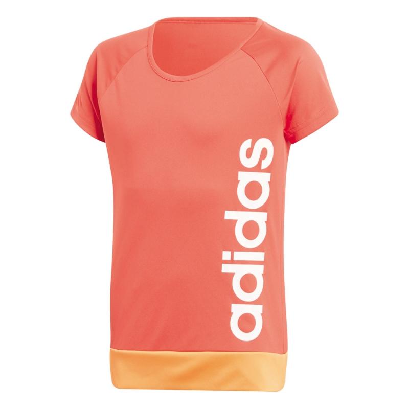 Adidas-Ninos-Camiseta-de-entrenamiento-Entrenamiento-Equipo-Up-Tee